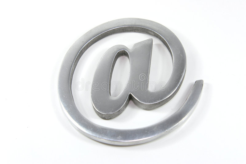 Internet mail sign royalty free stock photos