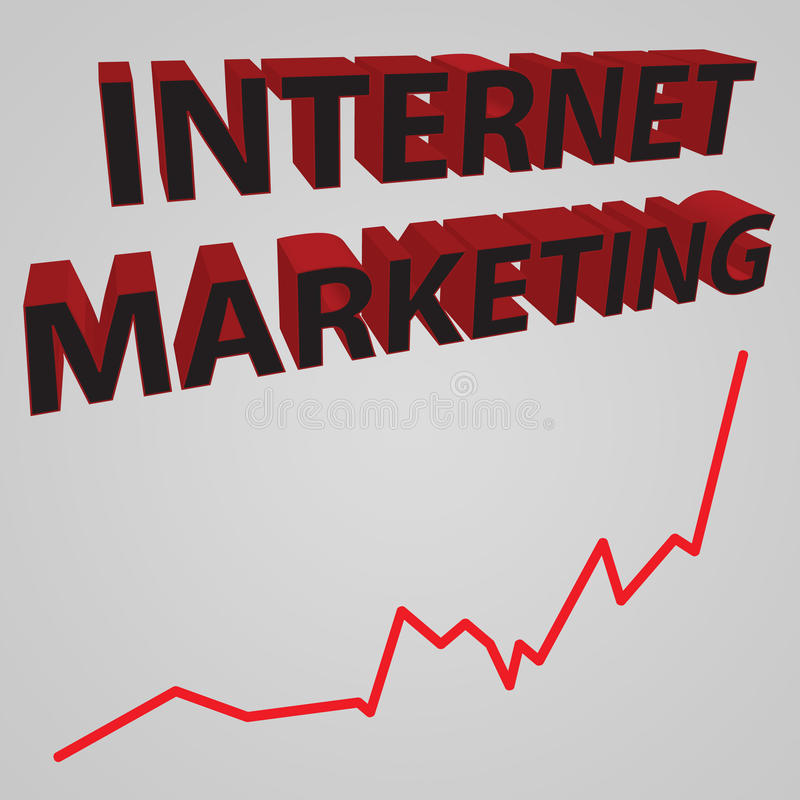 Download Internet Marketing stock illustration. Image of forward - 13967601