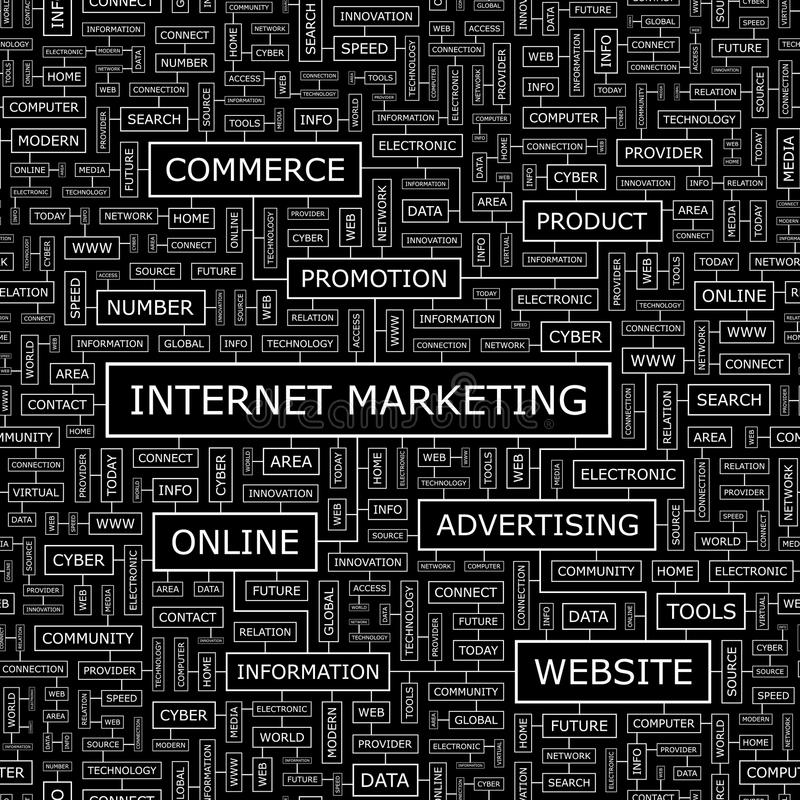 Download INTERNET MARKETING stock image. Image of infographic - 34669739