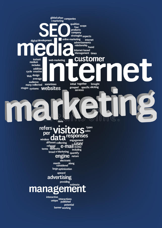 Download Internet Marketing Text Cloud Stock Images - Image: 23939974