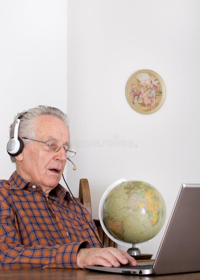 Internet-mededeling stock afbeeldingen