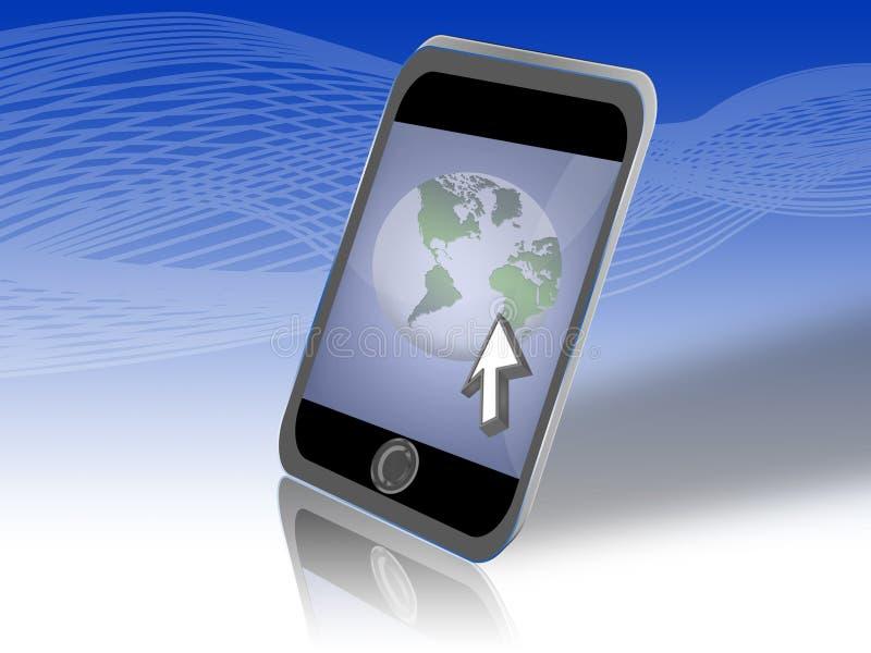 Internet Mobile (01) stock photo