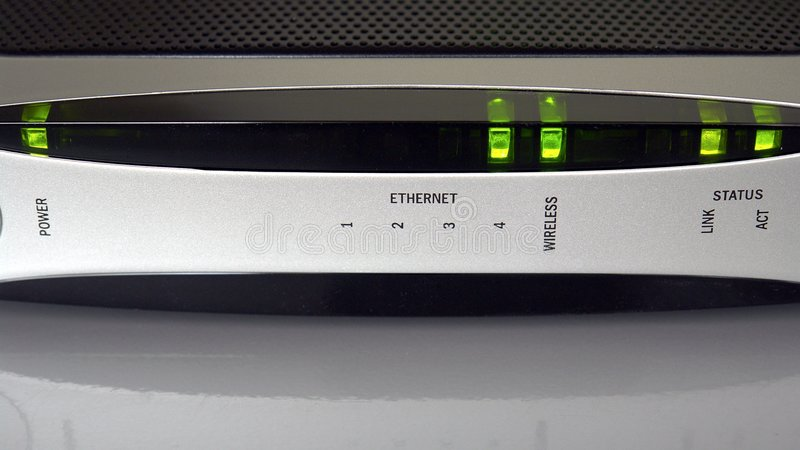 Internet-Modem lizenzfreie stockfotos