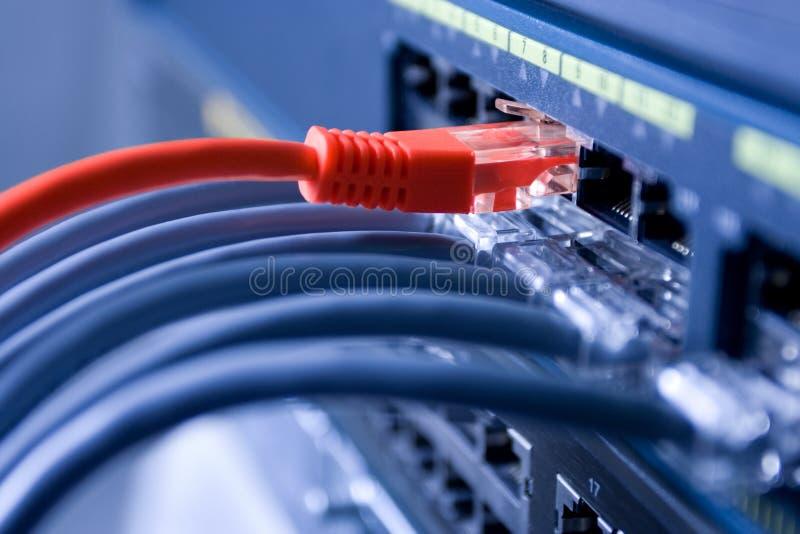 internet podłączeniowa wysoka prędkość zdjęcia stock