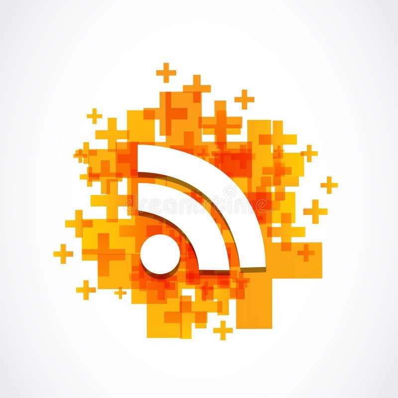 Internet positivo di wifi royalty illustrazione gratis