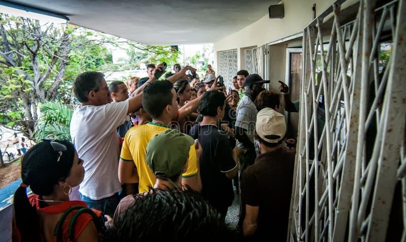 Internet przyjeżdża Kuba Mnie zdjęcia royalty free