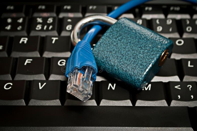 Internet sûr images stock