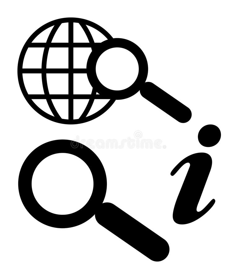 Download Internet Seach And Information Stock Illustration - Image: 11211578