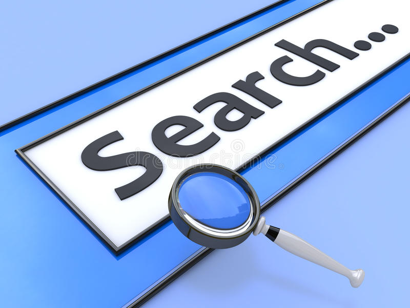 Internet search stock images
