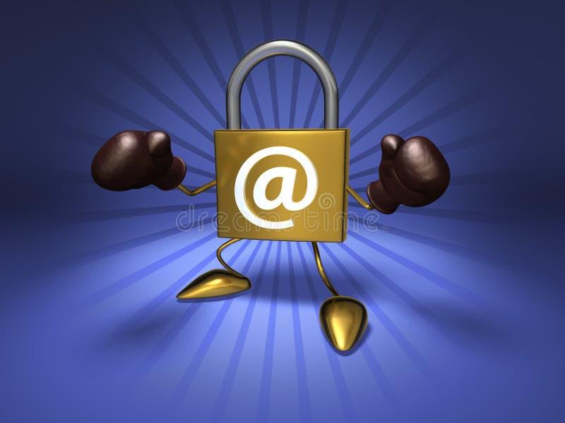 Download Internet security stock illustration. Image of virus, computer - 2798833