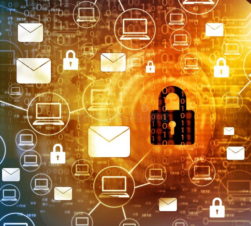 Internet Security concept stock photo