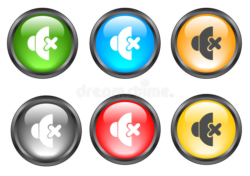 Download Internet shiny buttons stock vector. Illustration of decoration - 9739521