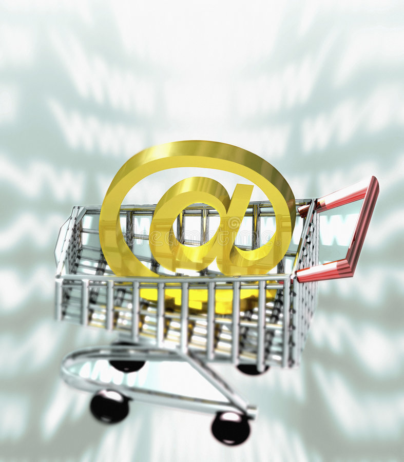 Download Internet Shopping stock illustration. Illustration of purchase - 2942114