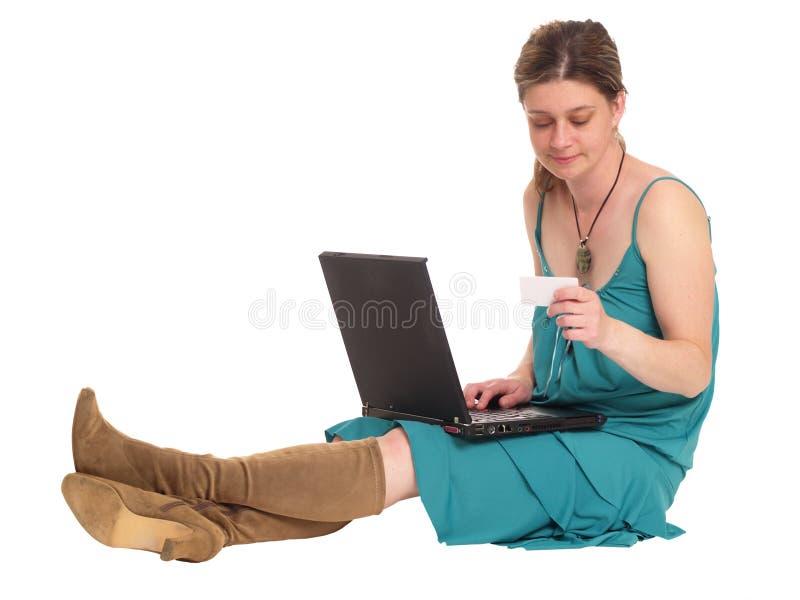 Internet shopping royalty free stock photos