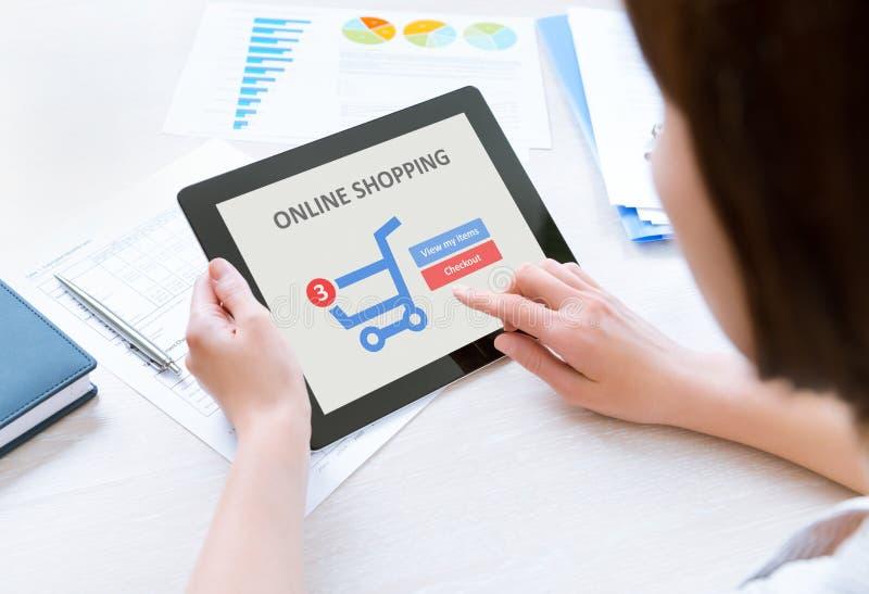Internet shopping stock photos