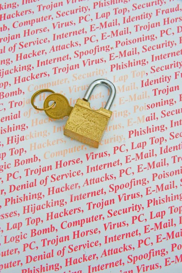Internet-Sicherheit. stockfotografie