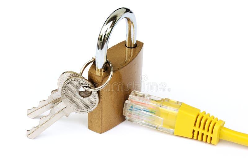 Internet-Sicherheit und -verschlüsselung lizenzfreie stockfotografie