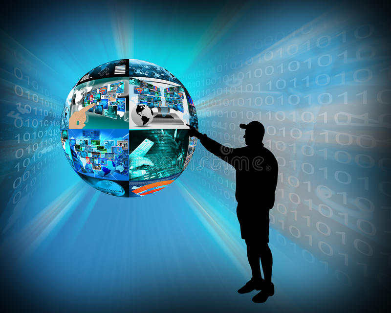 Download Internet Sphere Stock Photos - Image: 33205173