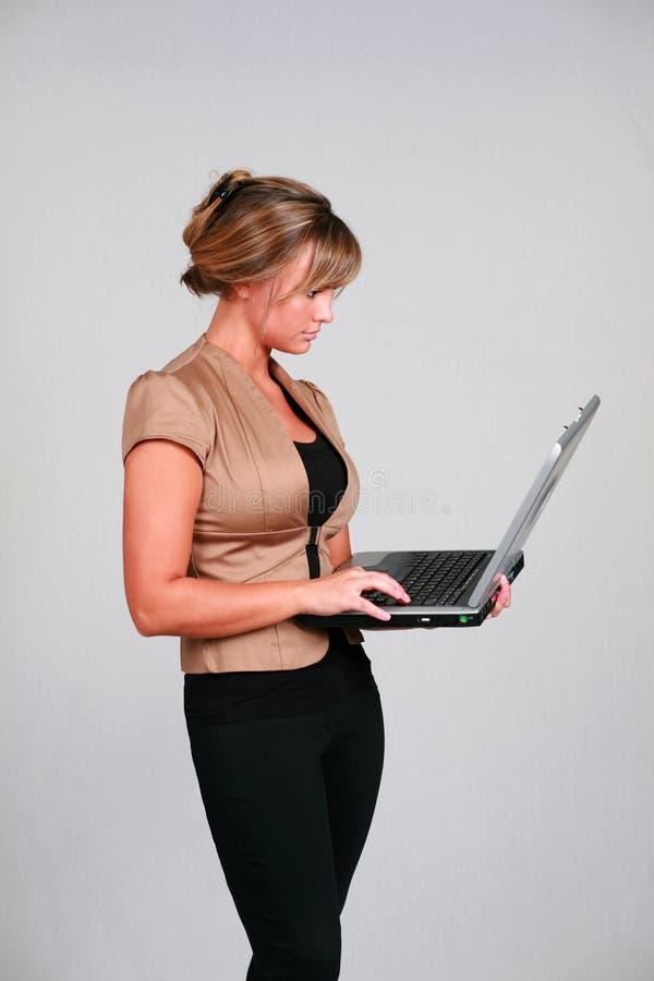 Internet-Surfer stockfoto