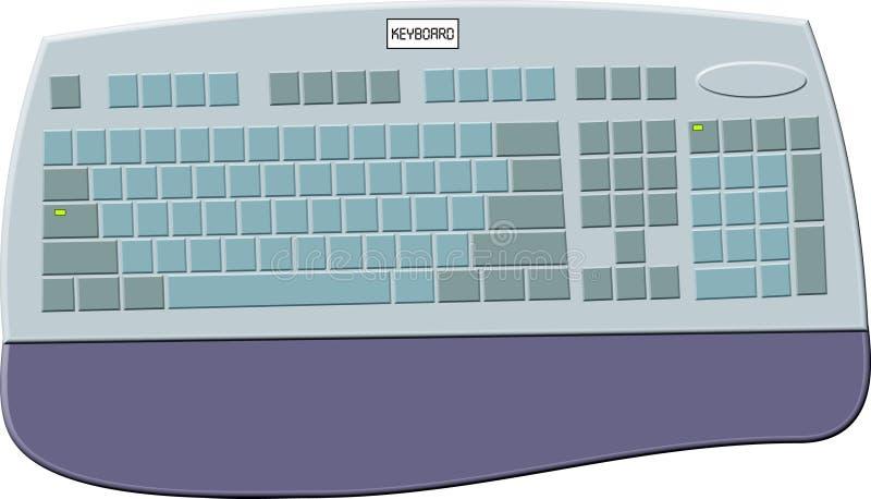 Download Internet-Tastatur stock abbildung. Illustration von computer - 42029