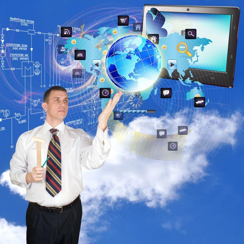 Internet-technologieën Royalty-vrije Stock Afbeeldingen