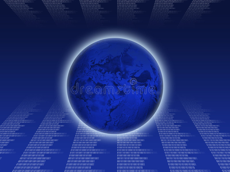 Internet technology2 stock illustration