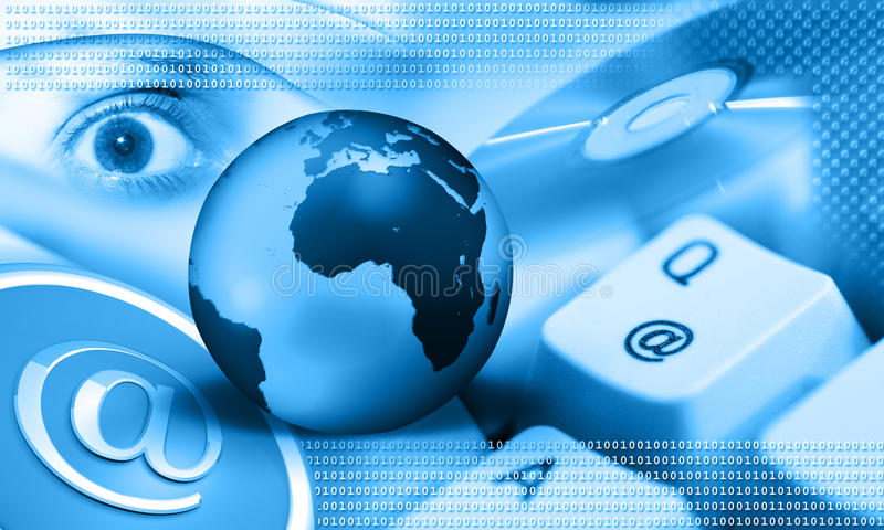Internet - terra azul