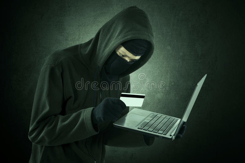 Internet Theft royalty free stock photography