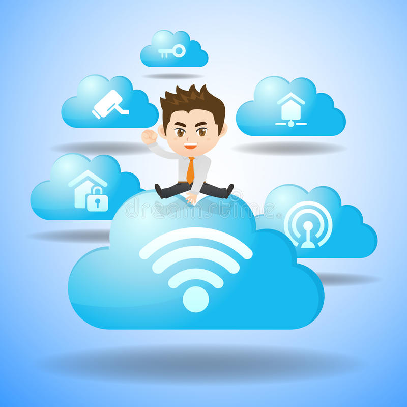 Internet of Things concept vector illustration