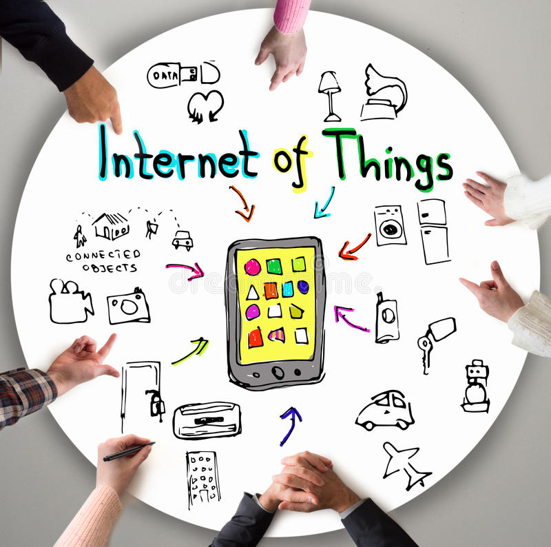 Internet of Things royalty free stock photography