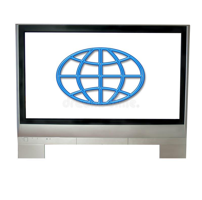 Internet TV imagenes de archivo