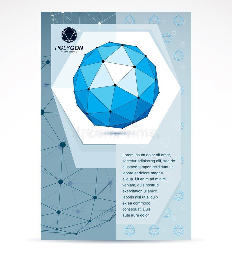 Internet-van het bedrijfs technologieënbedrijf bevorderingsidee Samenvatting royalty-vrije illustratie