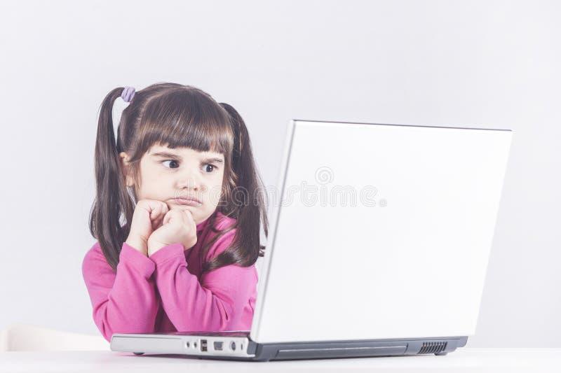 Internet-veiligheid en ouderlijk controleconcept royalty-vrije stock foto's