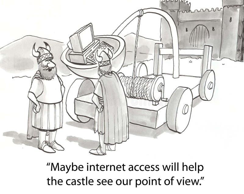 Download Internet vikings stock illustration. Image of funny, 21st - 23630765