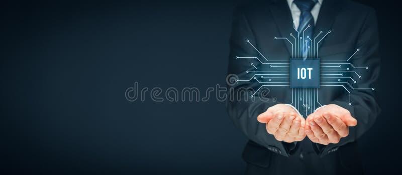 Internet von Sachen IoT stockfoto