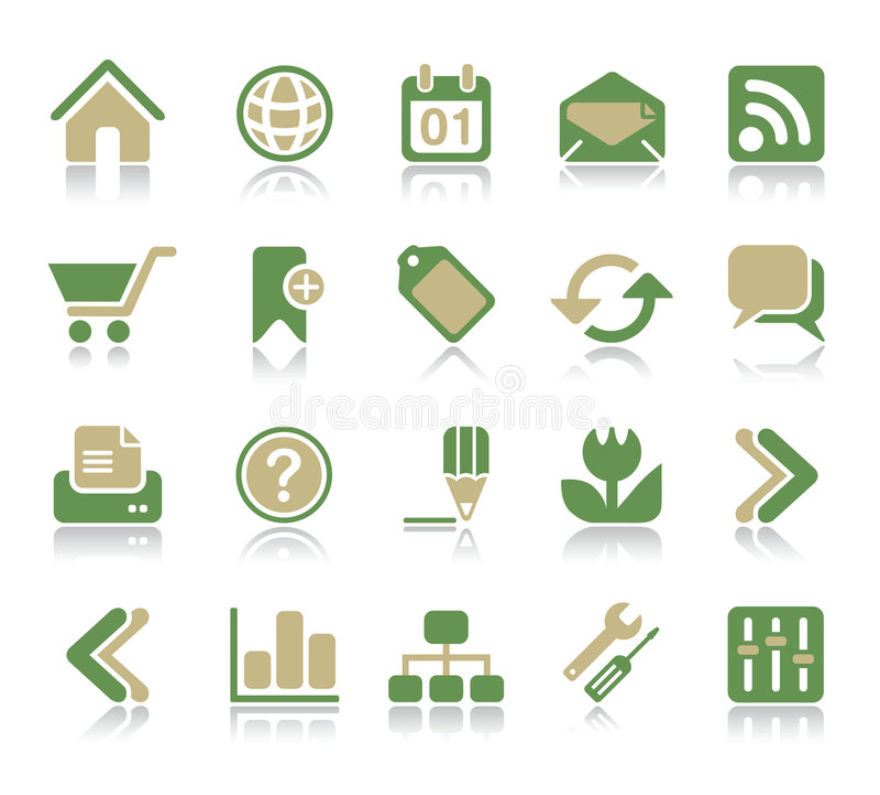Internet & Web Icon vector illustration