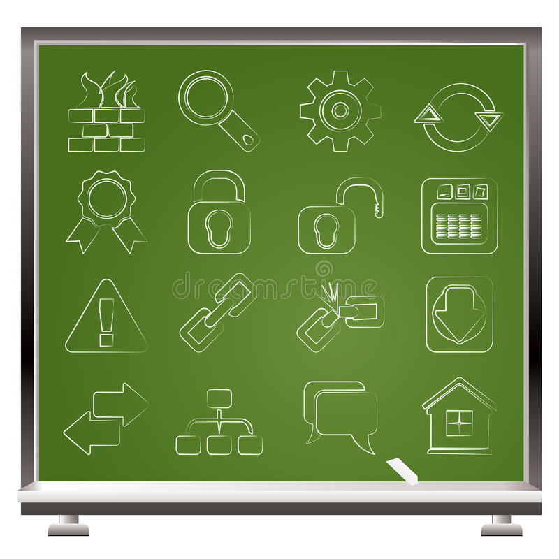 Download Internet And Web Site Icons Stock Photos - Image: 25048053