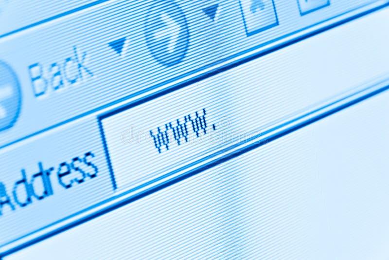 Internet WWW lizenzfreie stockfotografie