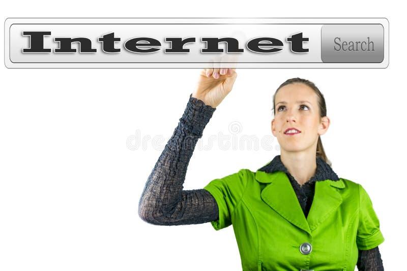 Internetbegrepp royaltyfri fotografi