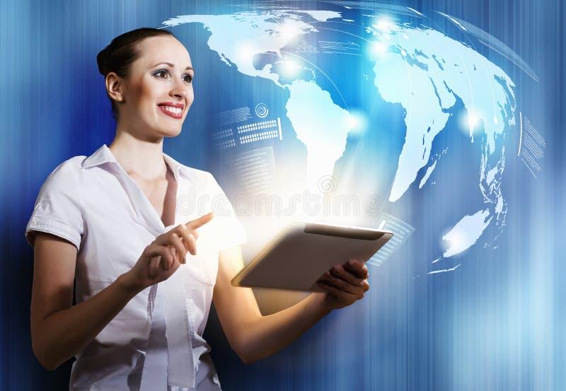 Internetnutzer stockfoto