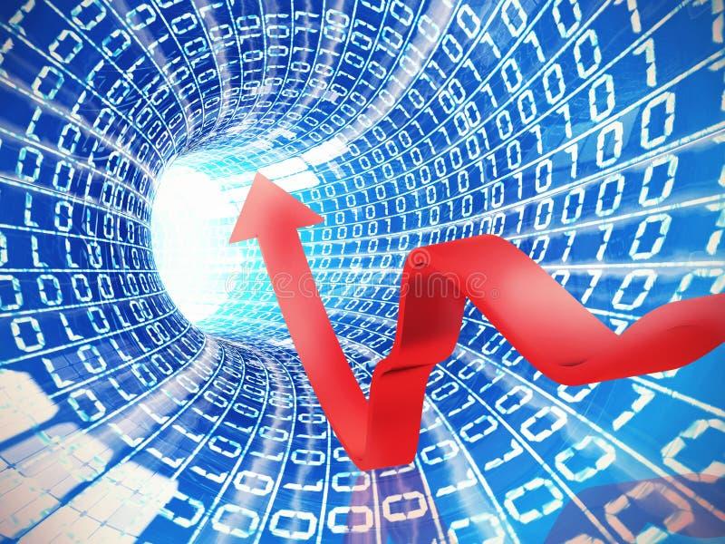 Internetowa analizy prędkość obrazy royalty free