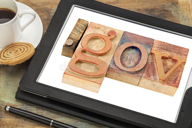 Internetowa domena dla rzędu zdjęcia stock