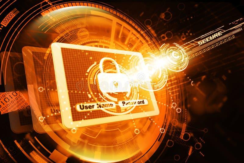 Internetowa ochrona zdjęcie royalty free