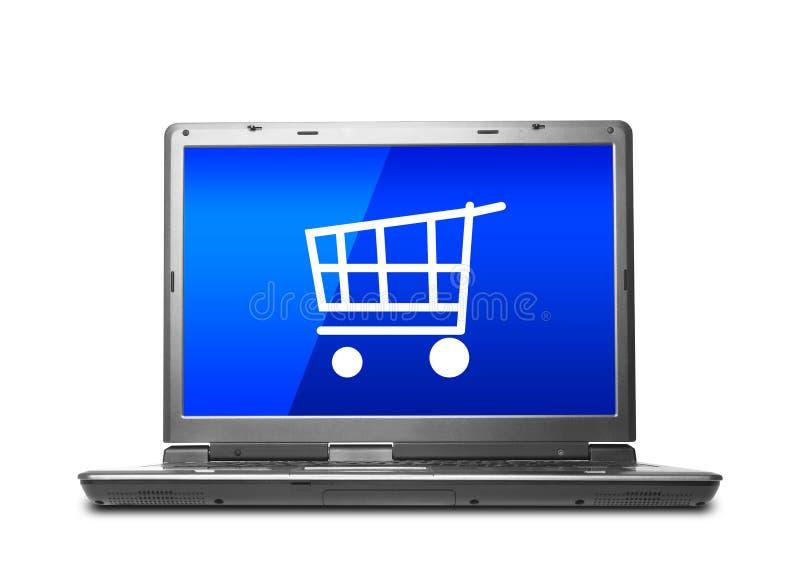 Internetowy zakupy zdjęcie royalty free