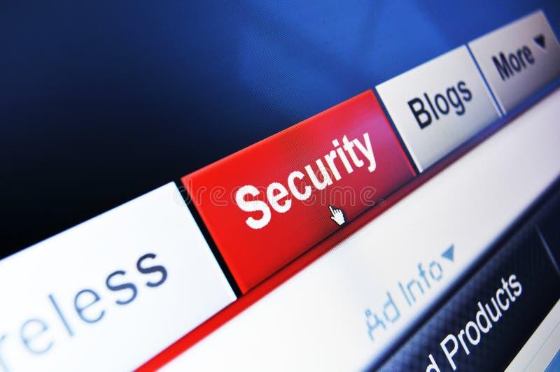 internetsäkerhet royaltyfria bilder