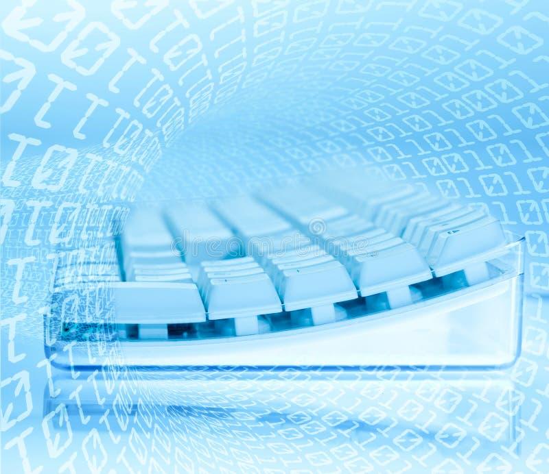 internettangentbordteknologi royaltyfri illustrationer