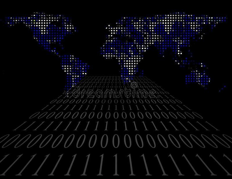 Internetv?rld vektor illustrationer
