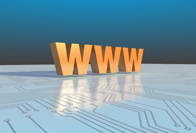 internety ilustracja wektor