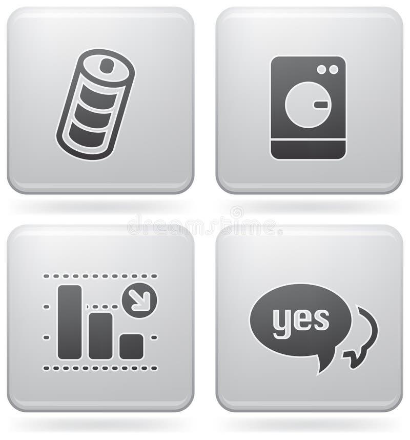 internety ikona internety ilustracji