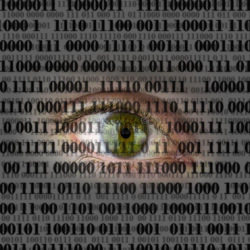 Internety som spionerar begrepp arkivbilder